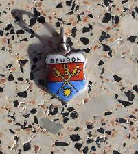 Bettelarmband Anhänger Wappen Silber 800 Beuron