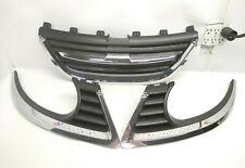 2006 2007 2008 2009 Saab 9-5 Grill With Right And Left Shell Insert Set OEM