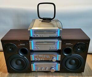 Technics SE-HD55 Stereo Mini Hi-Fi System - Amp, Tuner, Tape, CD - PARTS ONLY
