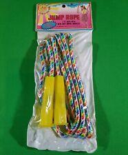 Vintage Imperial 1987 Swivel Handles Jump Rope 7 Ft. Sealed! #7360 Dura-Fiber