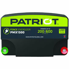 Patriot - PMX1500 Fence Energizer - 15 Joule for electric fence