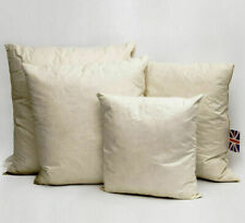 """3x Duck Feather Cushion Pad Filler Insert Inner Scatter 16""""x16inch (40 x 40cm)"""
