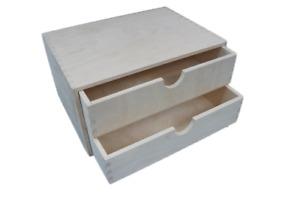 A4 Plain Wooden Cupboard Chest Shelf With Drawers Storage Desktop Unit D42