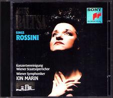 Agnes BALTSA ROSSINI Tancredi Maometto Il Semiramide La Cenerentola CD Ion MARIN