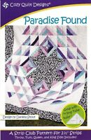 Paradice Found Quilt Pattern by Cozy Quilt Designs