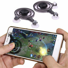 2Pcs Mobile Joystick Game Touch Screen Joypad Pad Controller For iPhone Android