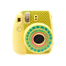 Cute Fujifilm Instax Mini 8 Camera Decor Body Sticker Decal Sunflower-Yellow