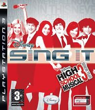 Disney Sing It! High School Musical 3 playstation 3 ( PS3 ) NUOVO!!!