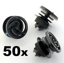 50x Vw Volkswagen Interior Puerta Tarjeta Y Panel guarnecido de clip de montaje / Sujetador
