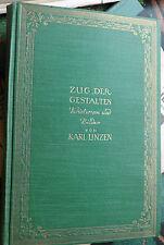 Karl Linzen: Zug der Gestalten, 1924, Oln. (Alt-Weimar) gebunden Oln.