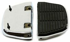 Chrome Passenger Footboard Floorboard Set for Harley Softail or Touring 1986-Lat