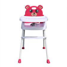 4-1 Babystuhl Hochstuhl Kinderhochstuhl Verstellbar Treppenhochstühle klappbar