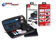 Custodia Compatibile Nero + accessori per Nintendo Switch super kit 13 pz Oivo