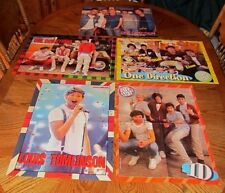 ONE DIRECTION Harry Liam Zayn Niall Louis 5 POSTER CLIPPINGS Lot Singers OD1