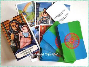 ЦЫГАНСКОЕ ТАРО карты БАКЛЕНДА BUCKLAND ROMANI TAROT cards Dense lamination