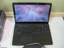 SONY SVF15A16CXB TOUCH 15.6 INTEL i7 2.00 GHZ 160 SSD 8 GB B/T B/L/K/B WIN 10 HM
