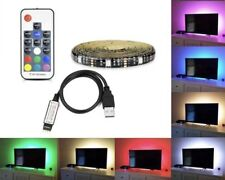 3pcs /  6.6 ft  / 7 color remote / waterproof strip / sticker backing / full set