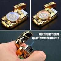 16E5 Cigarette Lighter Jet Torch Gas Watch Lighter Lighter Fashion Gift Smoking