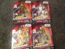 Disney/Hasbro Star Wars Hero Mashers Figures X 4