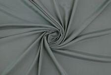 Cady leggero misto seta grigio medio STOFFA AL METRO TESSUTO A METRAGGIO