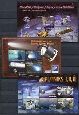 MALEDIVEN MALDIVE 2006 Raumfahrt Space 4534-4547 + Block 599-601 ** MNH