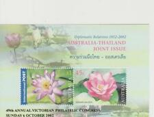 Flowers Thai Stamps