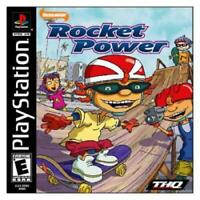 Rocket Power Team Rocket Rescue Nickelodeon Playstation Game PS1 Used Complete