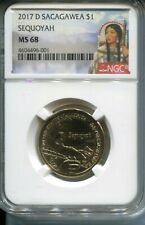 "2017-D SACAGAWEA TRADE ROUTES DOLLAR NGC MS68 FINEST "" SPOTLESS """