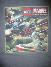 LEGO MARVEL SUPER HEROES T SHIRT Captain America Hulk Iron Man Spiderman Thor XL