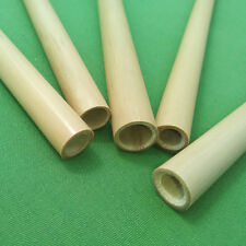 Bamboo Straws 4 x 20 cm Handmade and Reusable with Carry Pouch UK Seller