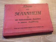 Album von MANNHEIM 20 postkarten CPA vers 1900 Carnet Cartes Postales
