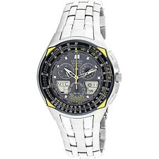 Citizen Men's Blue Angels Skyhawk JR3080-51M Silver Stainless-Steel Dress Watch