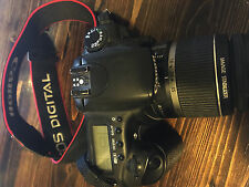 CANON EOS 20D 8.2MP DSLR EXC. COND. WORKING w/18-55mm CANON LENS