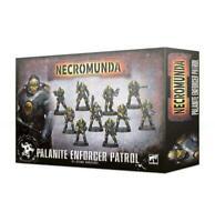 Necromunda: Palanite Enforcer Patrol - Warhammer 40k - Brand New! 300-45