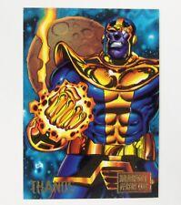 1995 Marvel Versus DC Jimmy Palmiotti comic trading card Thanos #39