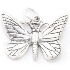 BUTTERFLY Monarch charm Pendant Garden Beautiful Insect STERLING SILVER 925 .925