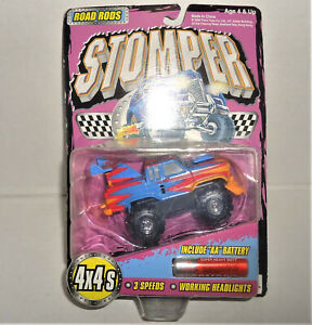2000 Tinco 4x4 Stompers Road Rods FORD Ranger Blue New/ card Working Headlight