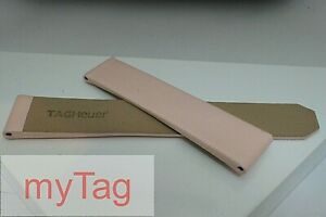 Genuine TAG Heuer Ladies F1 Glamour Satin/Leather  17/15mm Deployant Strap