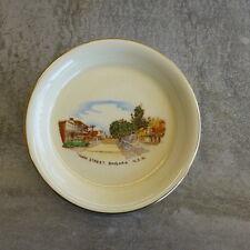 Vintage Crown Devon souvenir series Main St Bingara NSW Aust Pin Dish England