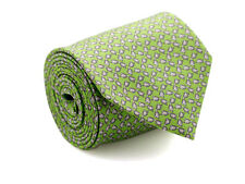 New DAVIDOFF 100% Silk Neck Tie in Green Color with Grey Sunglasses Pattern