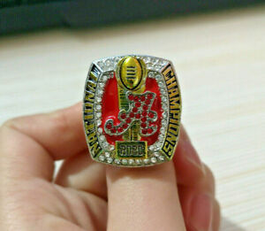 2020 Alabama Crimson Tide National Championship 11-01 Ring - All Sizes