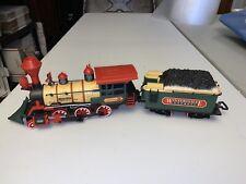 NEW BRIGHT Train Engine Car WINTERSVILLE EXPRESS Locomotive w/TENDER