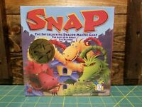 NEW & Out of Print! SNAP Interlocking Dragon Making Board Family Game GAMEWRIGHT