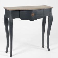 French noir black Celestine narrow console hall dressing sofa table