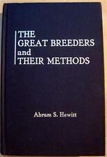 Great Breeders and Their Methods Calumet Tesio Aga Khan