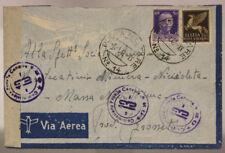 POSTA MILITARE N°14 ( MARCHESE P. 3 ) BUSTA VIA AEREA  8.1.1941 #XP9