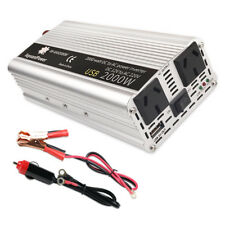 2000w converter Modified sine wave power inverter DC 12v to AC 240v invertor USB