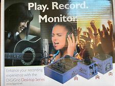 Digigrid D Cube Ethernet Audio Recording Computer Interface Pc/Mac Digi Grid
