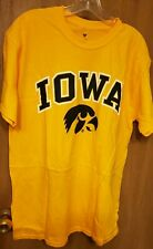 Iowa Hawkeyes Fanatics T-Shirt - Gold - Large