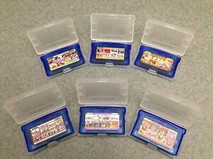 Gameboy Advance GBA Multicart Nintendo NES games Multi Cart Lot Options